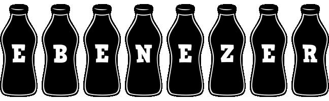 Ebenezer bottle logo