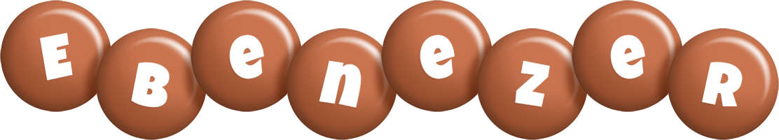 Ebenezer candy-brown logo