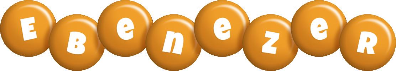 Ebenezer candy-orange logo