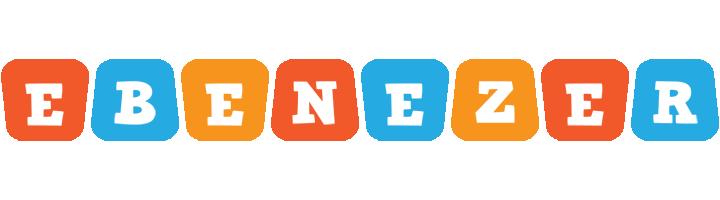 Ebenezer comics logo