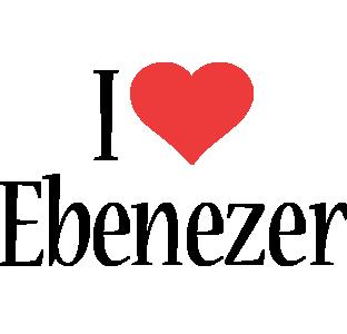 Ebenezer i-love logo