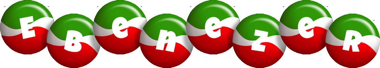 Ebenezer italy logo