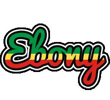 Ebony african logo