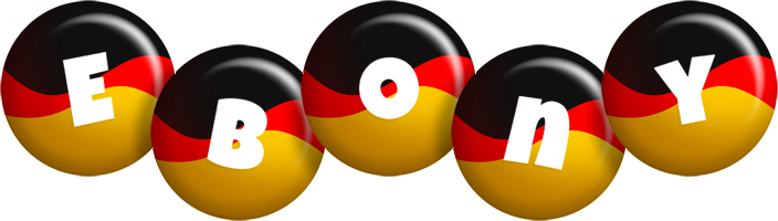Ebony german logo
