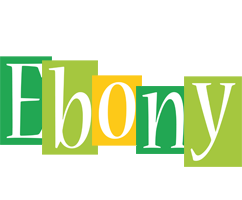 Ebony lemonade logo