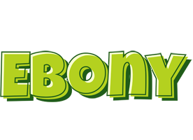 Ebony summer logo