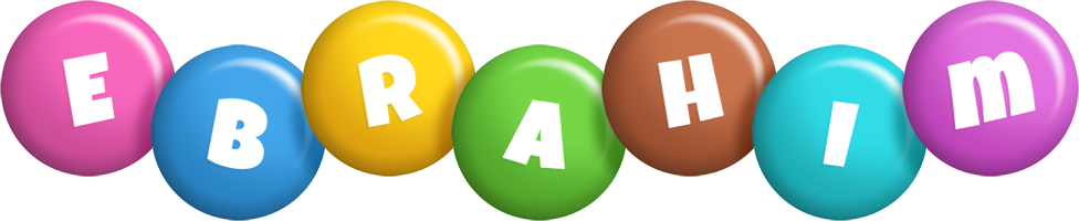Ebrahim candy logo