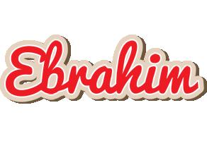 Ebrahim chocolate logo