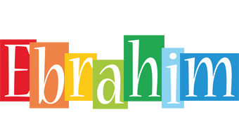 Ebrahim colors logo