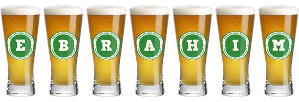 Ebrahim lager logo