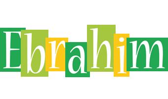 Ebrahim lemonade logo