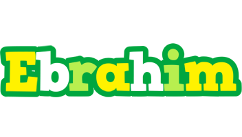 Ebrahim soccer logo