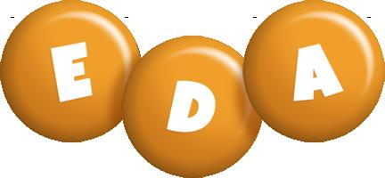 Eda candy-orange logo