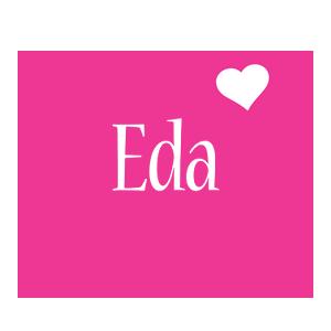 Eda love-heart logo
