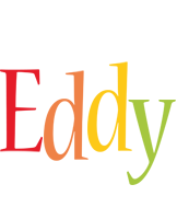Eddy birthday logo