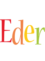 Eder birthday logo