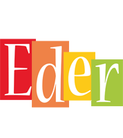 Eder colors logo