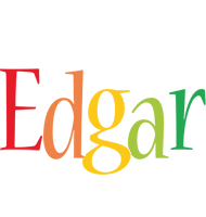 Edgar birthday logo