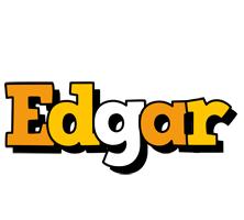Edgar cartoon logo