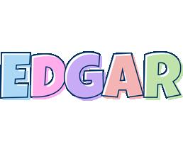 Edgar pastel logo