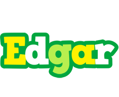 Edgar soccer logo