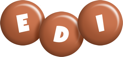 Edi candy-brown logo