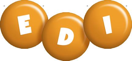 Edi candy-orange logo