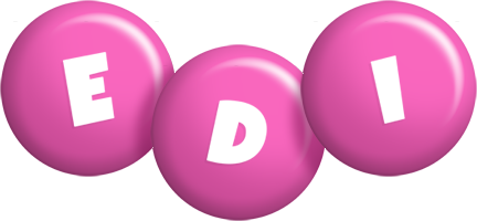Edi candy-pink logo