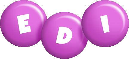 Edi candy-purple logo