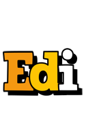 Edi cartoon logo