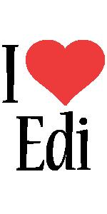 Edi i-love logo