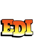 Edi sunset logo