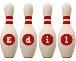 Edil bowling-pin logo