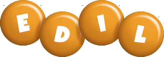 Edil candy-orange logo