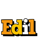 Edil cartoon logo