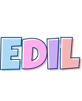 Edil pastel logo
