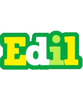 Edil soccer logo