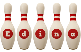 Edina bowling-pin logo