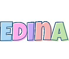 Edina pastel logo