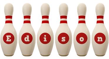 Edison bowling-pin logo