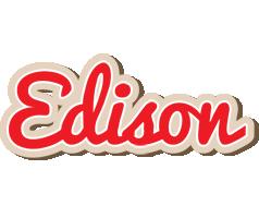 Edison chocolate logo