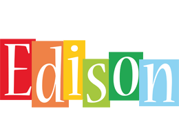 Edison colors logo