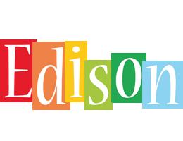 Edison colors logo