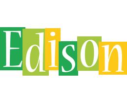 Edison lemonade logo