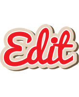 Edit chocolate logo