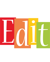 Edit colors logo