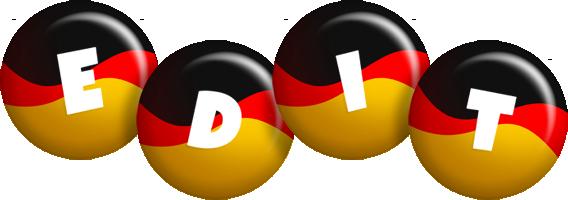 Edit german logo