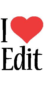 Edit i-love logo