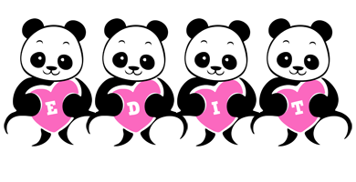 Edit love-panda logo