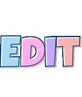 Edit pastel logo